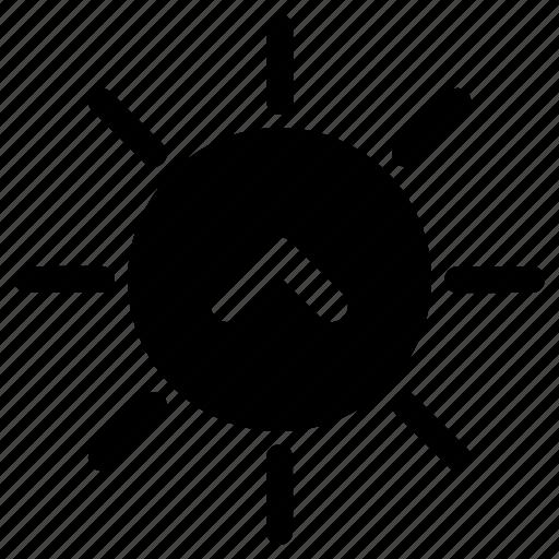 dawn, morning, sun, sun rise icon