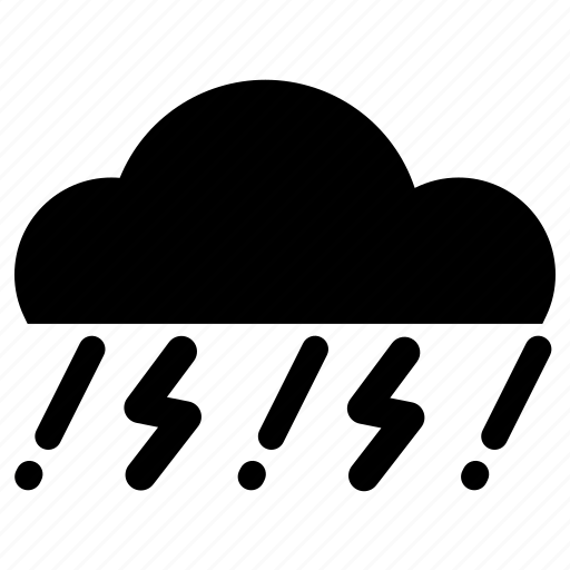 Cloud, rain, storm, tunderstorm icon - Download on Iconfinder
