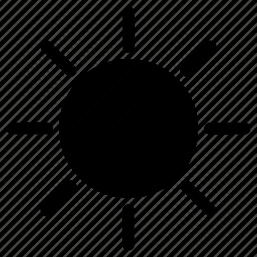 day, dray, summer, sun icon