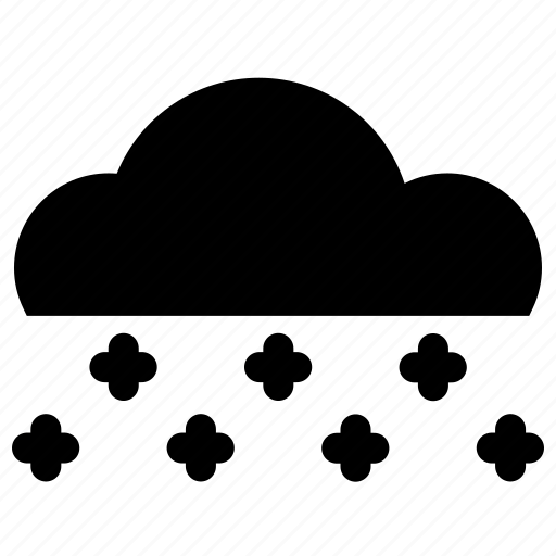 cloud, rain, snow, winter icon