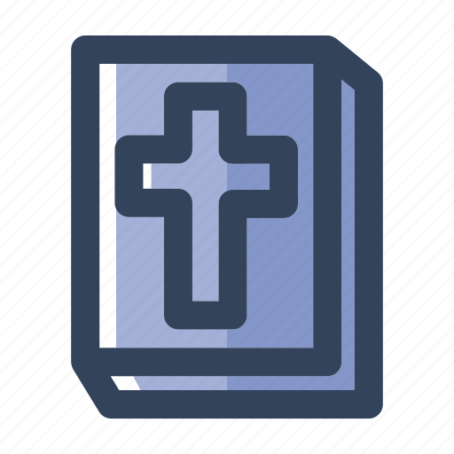 bible, book, christian, christianity, cross, gospel, religion icon