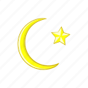 arabic, cartoon, islam, moon, muslim, ramadan, religion icon