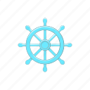 buddhism, buddhist, cartoon, chakra, dharma, religion, wheel icon