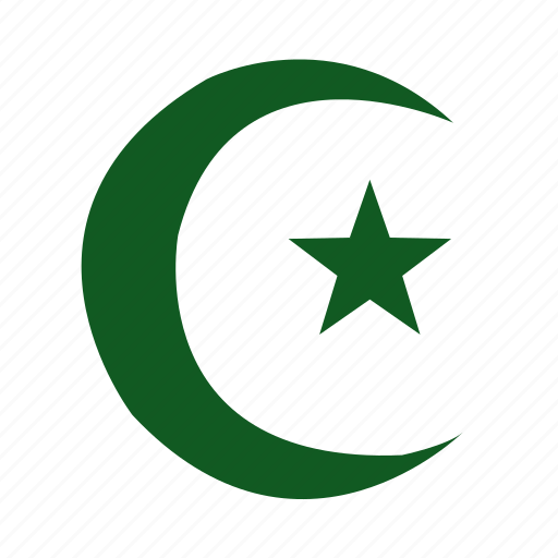 al-islam, islam, islamic, moon, muslim, religion, star icon