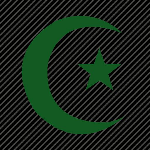 Al-islam, islam, islamic, moon, muslim, religion, star icon - Download on Iconfinder