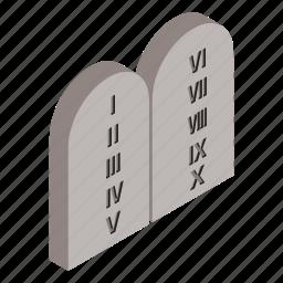 entombment, exterior, grave, isometric, numeric, sepulcher, tomb icon
