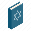 book, david, god, isometric, jesus, jew, pray icon