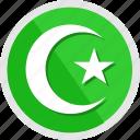 allah, arab, islam, muhammad, muslem, muslim, religion icon