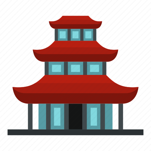 Architecture, asia, buddhist, line, stroke, temple, travel icon - Download on Iconfinder