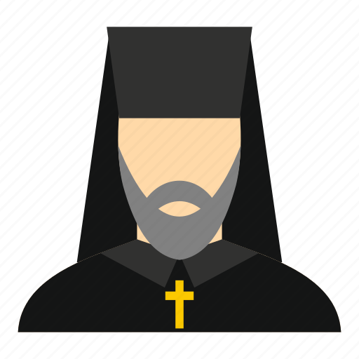 Christian, christianity, father, orthodox, priest, religion, religious icon - Download on Iconfinder