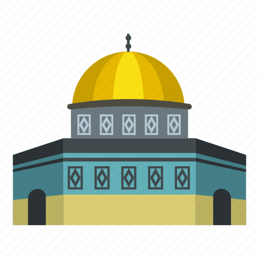 ancient, arab, architecture, building, city, dome, rock icon