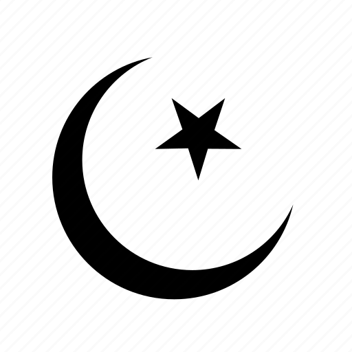 islam, moon, religion, religious, star icon