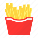 food, potatoes, mcdonalds, french fries icon