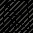 abc, contenu icon