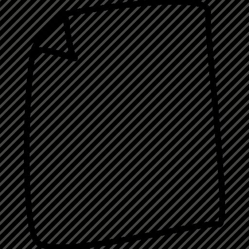 file, paper icon