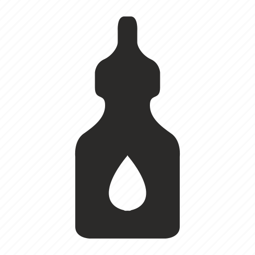 bottle, drop, gell, glue, tube icon