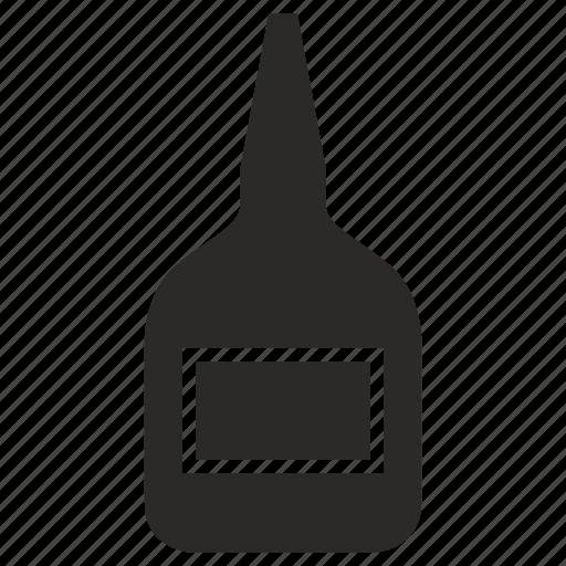 fluid, glue, tube icon