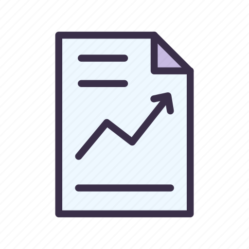 analytics, business, chart, graph, report, statistic icon