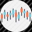 big board, candlestick analysis, economical analysis, stock exchange, stock market graph icon