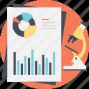 data analysis, financial report, market analysis, market research, strategic analysis icon
