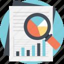 big data analysis, business report, data analysis, productivity analysis, statistical monitoring icon
