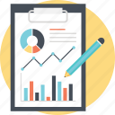 analyzing chart, business research, business schedule, graphs and chart, marketing strategy icon