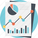 business charts, business graph, line graph analysis, profit symbol, progress report icon