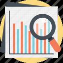 bar chart analysis, data research, search analytics, seo graph, statistic analysis