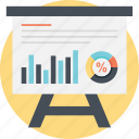 business presentation, report chart, sales growth analysis, statistical analysis, statistics icon