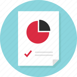 data, doc, document, page, report icon