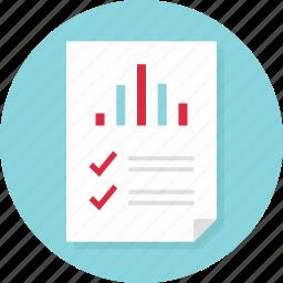 analytics, data, doc, docs, document, page, report icon
