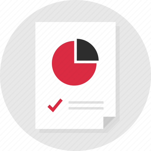 check, data, doc, document, mark, page, report icon