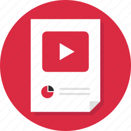 data, doc, document, page, report, youtube icon