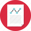 analytics, analyze, business, data, document, page, report icon