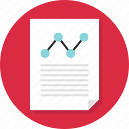 analytics, analyze, business, data, document, page, report icon
