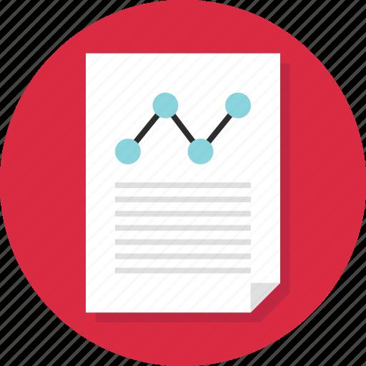 Document, business, analytics, report, analyze, data, page icon