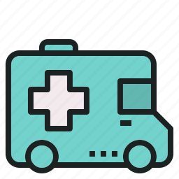 ambulance, car, emergency, rescue, van icon