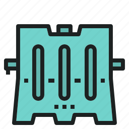 barrier, emergency, rescue, traffic, transaportation icon