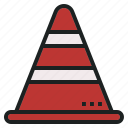 cone, rescue, security, traffic icon