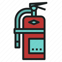 emergency, extinguisher, fire, rescue, tool icon