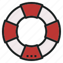 buoy, emergency, life, rescue, saver icon