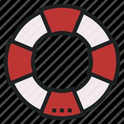 buoy, emergency, life, rescue, saver icon