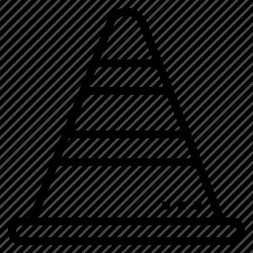 cone, rescue, security, traffic icon