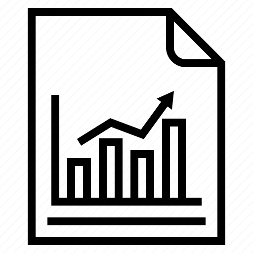 chart, documents, graph, idea, research icon
