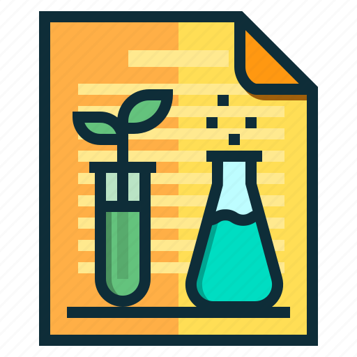chemical, documents, idea, research, science icon