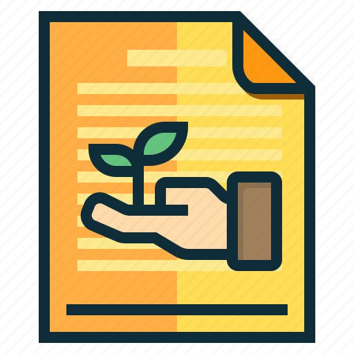 documents, ecology, green, idea, research icon