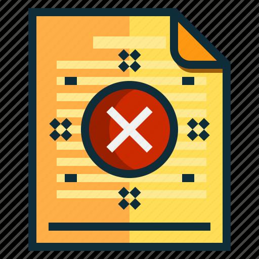 documents, error, file, idea, research icon