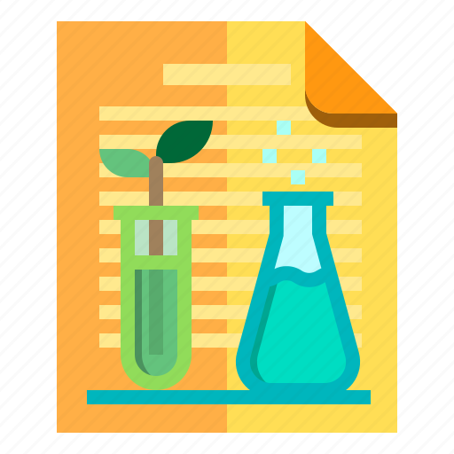 Chemical, documents, idea, research icon - Download on Iconfinder