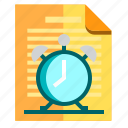 documents, idea, research icon