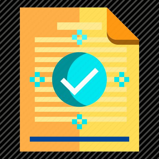documents, idea, research, suscess icon